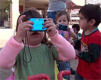 Imagens captadas em câmeras e tablets por crianças de até 3 anos inspiram reflexões sobre educação e viram curta-metragem produzido por pesquisadores da Unesp (foto:reprodução)