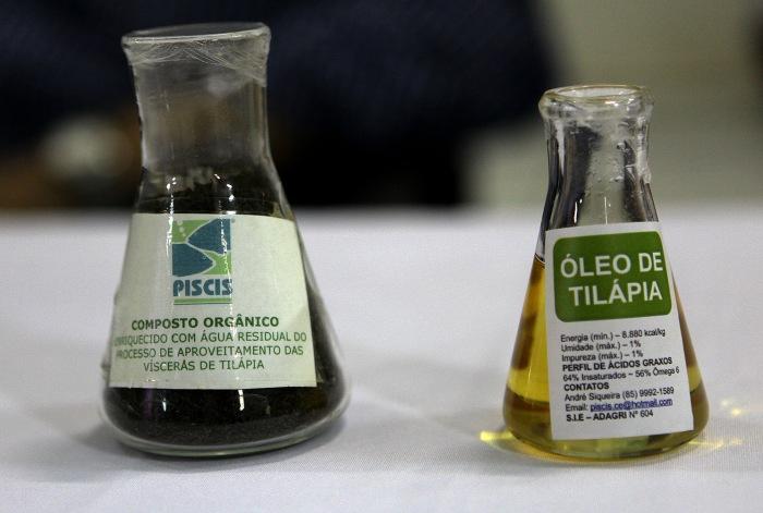 22/01/2015-Óleo de peixe conhecido como OGR (óleos e gorduras residuais) - Agência Petrobras