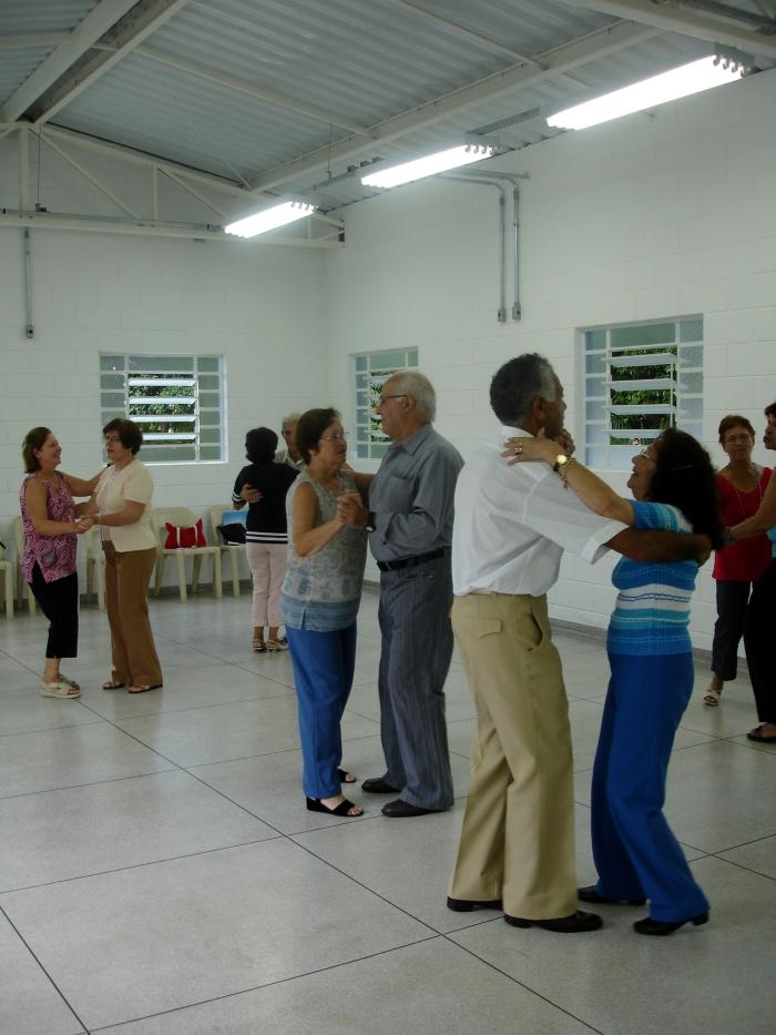 Dança de Salão no Centro de Convivência da Terceira Idade do Ipiranga, São Paulo, SP