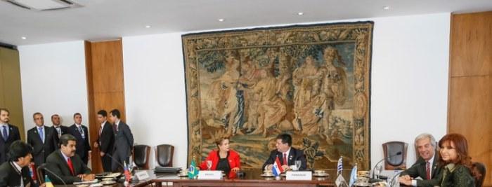 Dilma: busca por novos mercados continuará a ser prioridade do Mercosul e todos seguiremos comprometidos em obter resultados concretos no mais breve prazo. Foto: Roberto Stuckert Filho/PR