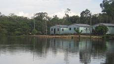 Estudo foi realizado na comunidade ribeirinha do Roque, no Amazonas