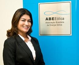 Elbia Gannoum, presidenta da ABEEólica. Foto: Arquivo pessoal