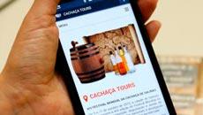 Site e aplicativo para dispositivos móveis se destinam a divulgar a região e o produto
