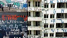 As tags (assinaturas) são as formas de pichação mais usadas em São Paulo