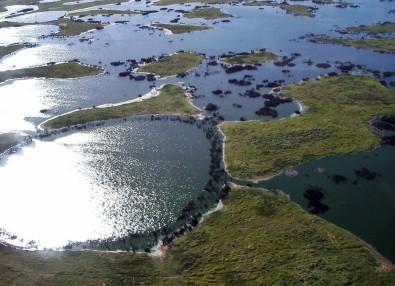 Modelos também sugerem que, durante o inverno no hemisfério Sul, a região poderá ter redução na quantidade de chuva de 30% a 40% (foto: Wikimedia Commons)