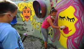 No Rio, mulheres se mobilizam para lutar por seus direitosFernando Frazão/Agência Brasil